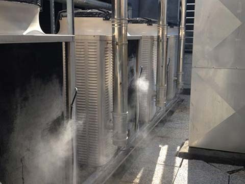 Misting Cooling Fogging Humidification Systems Hilfog